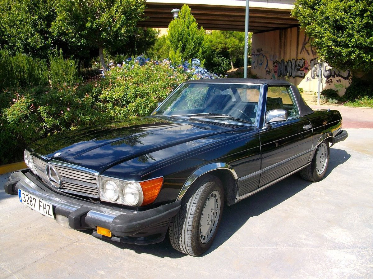 1988 Mercedes 560SL For Sale (picture 5 of 5)