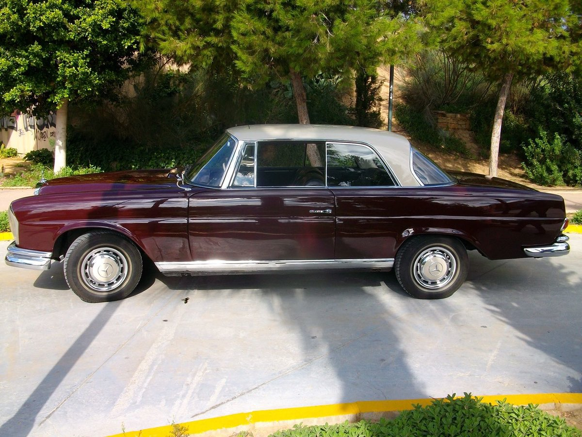 1965 Mercedes 220 Se For Sale Car And Classic
