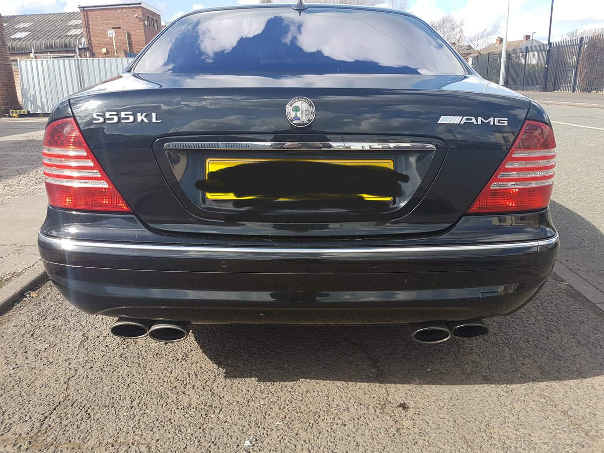 2004 Mercedes special edition s55 kla amg For Sale (picture 2 of 6)