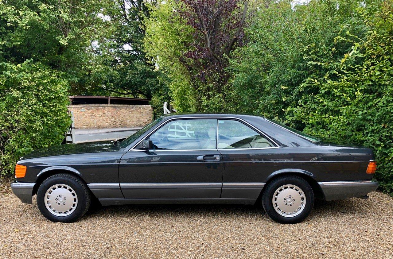 1989/F Mercedes 500SEC C126 *SOLD* 560SEC 420 SEC SEC For Sale (picture 1 of 6)