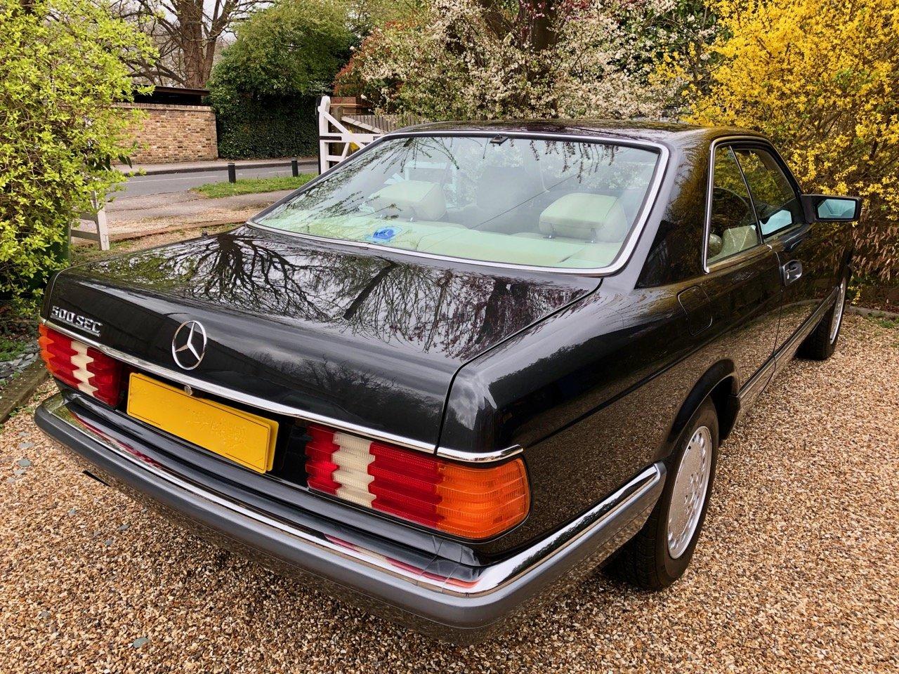 1989/F Mercedes 500SEC C126 *SOLD* 560SEC 420 SEC SEC For Sale (picture 5 of 6)