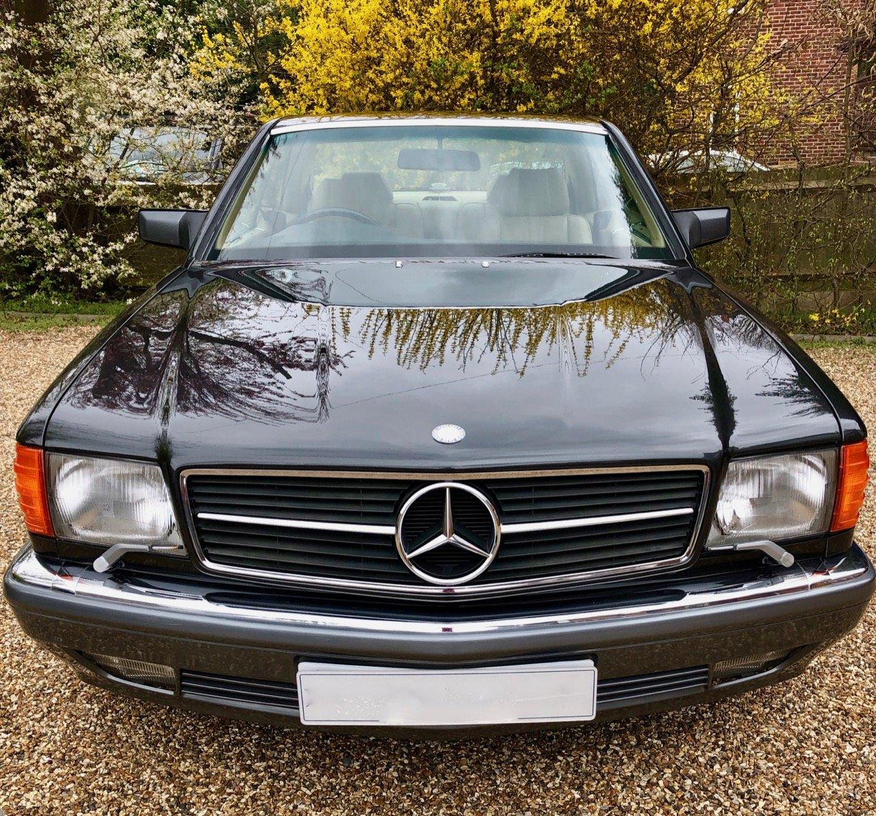 1989/F Mercedes 500SEC C126 *SOLD* 560SEC 420 SEC SEC For Sale (picture 6 of 6)