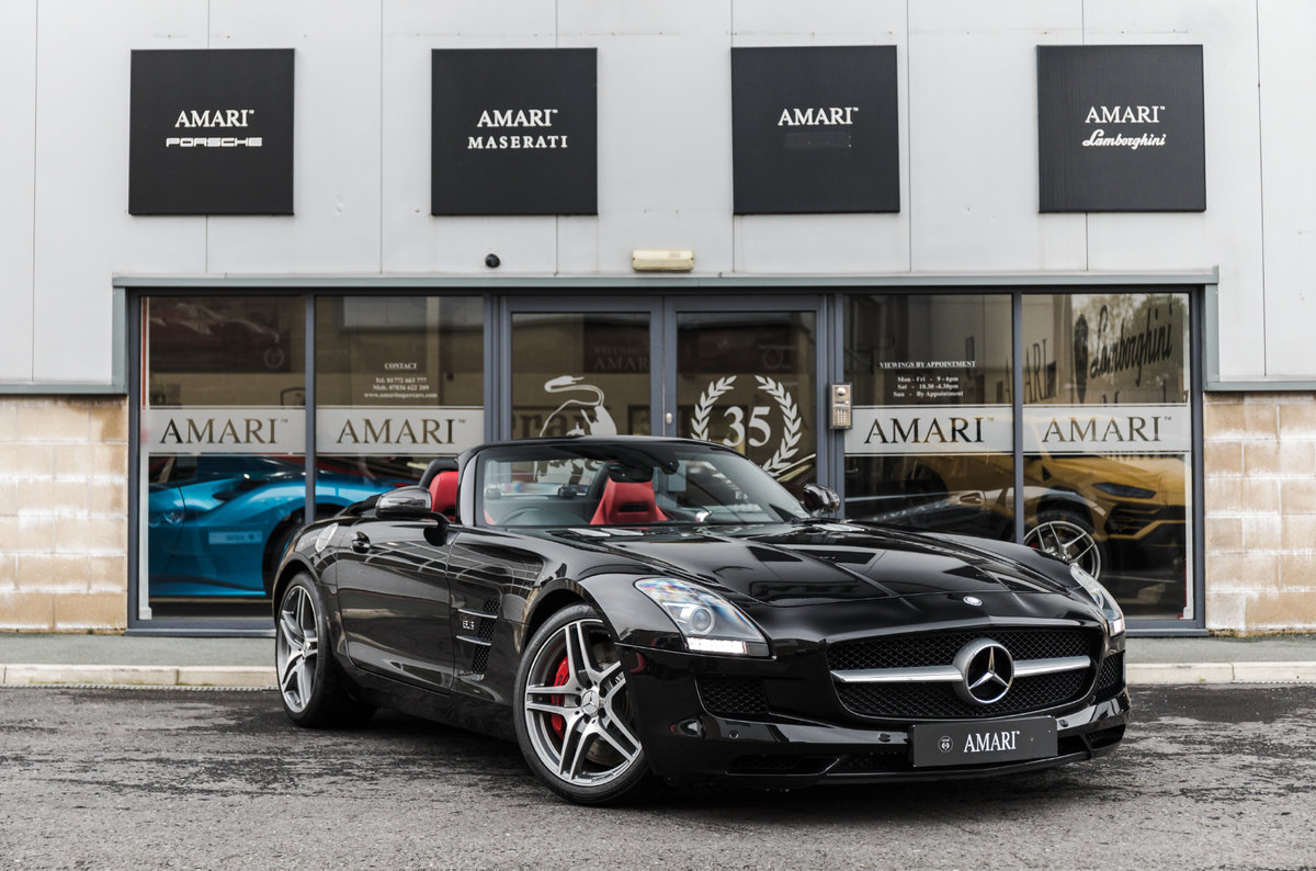 2011 61 Mercedes-Benz AMG SLS Roadster For Sale (picture 1 of 6)