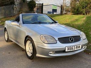 2000 Mercedes SLK 200 Kompressor Manual - 92,000 miles For Sale