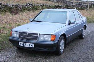 1990 Mercedes 190D 2.5 Auto For Sale