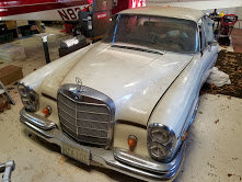 1967 Mercedes 300 SE Coupe Solid Dry Project Rare $obo