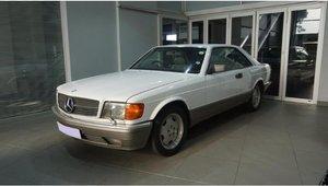 1990 Mercedes Benz 560 SEC RHD - REDUCED!