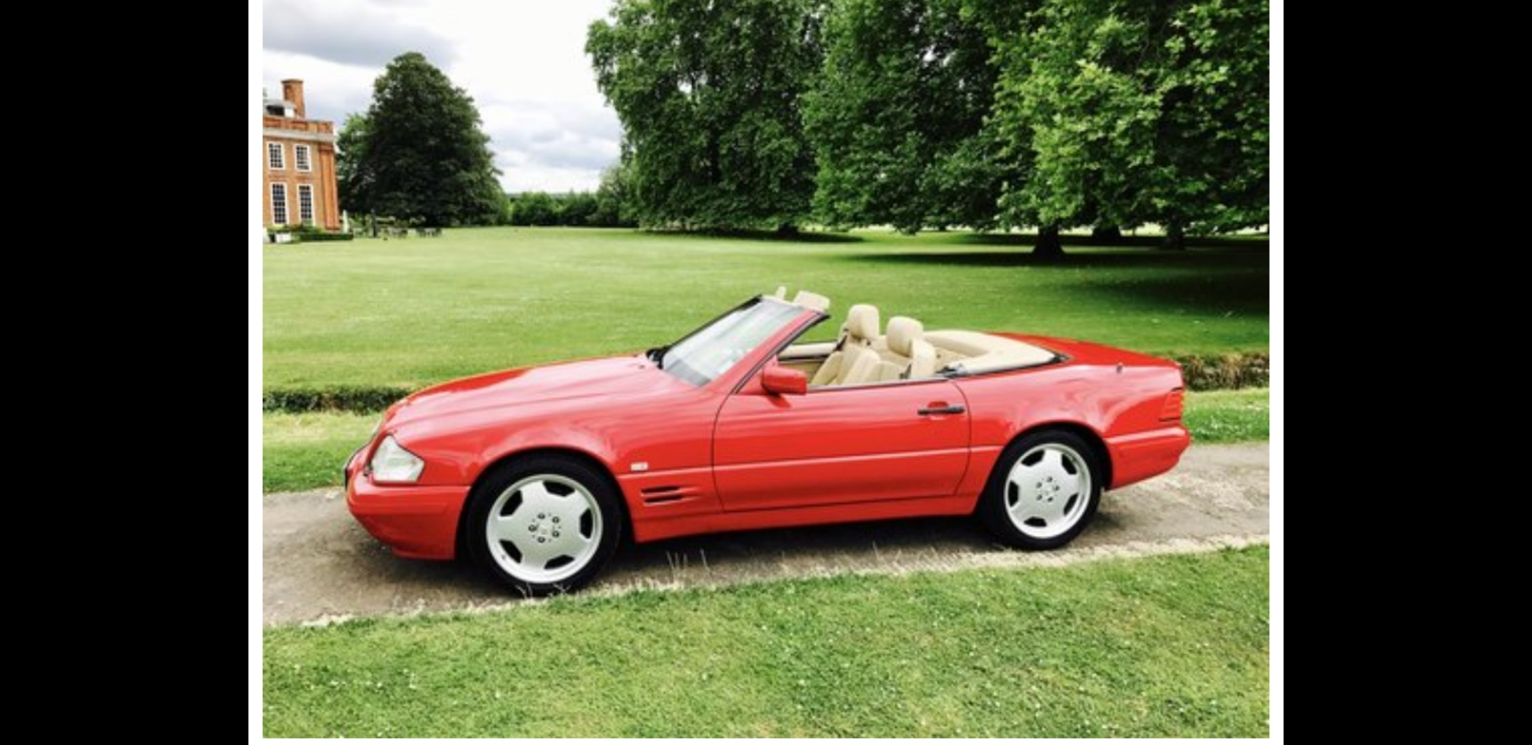1997 Mercedes SL500 For Sale (picture 1 of 1)
