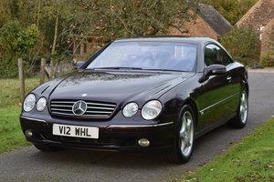 2000 Almandine Mercedes Cl600 C215 For Sale