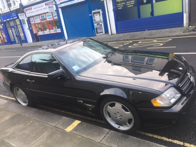1997 Mercedes SL600 LHD AMG R 129 Panoramic For Sale (picture 6 of 6)