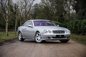 2002 Mercedes Benz CL600 For Sale