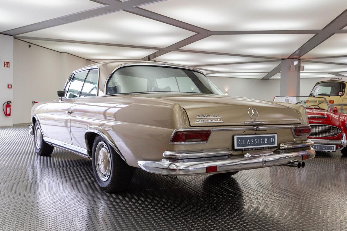1969 Mercedes-Benz 280 SE Coupé For Sale (picture 3 of 6)