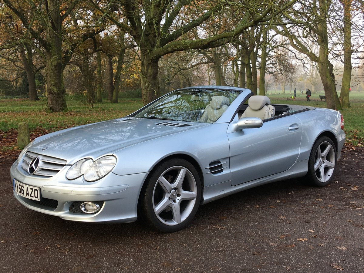 Mercedes SL350 Convertible Sports Auto 2006/56 bargain SOLD (picture 2 of 6)