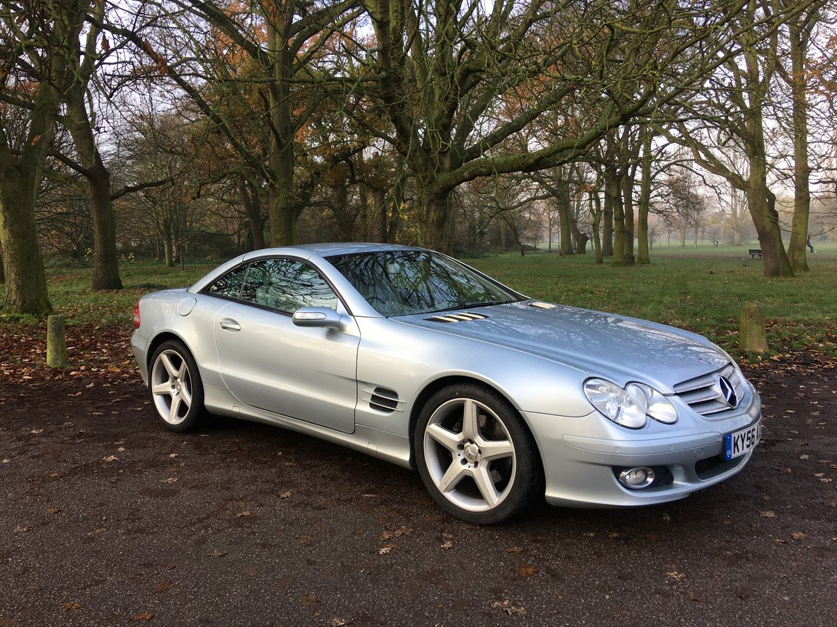 Mercedes SL350 Convertible Sports Auto 2006/56 bargain SOLD (picture 3 of 6)