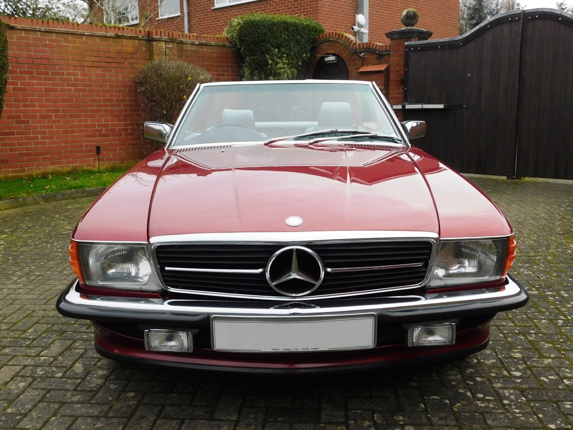 1989 Mercedes-Benz 300SL Convertible Automatic For Sale (picture 2 of 16)