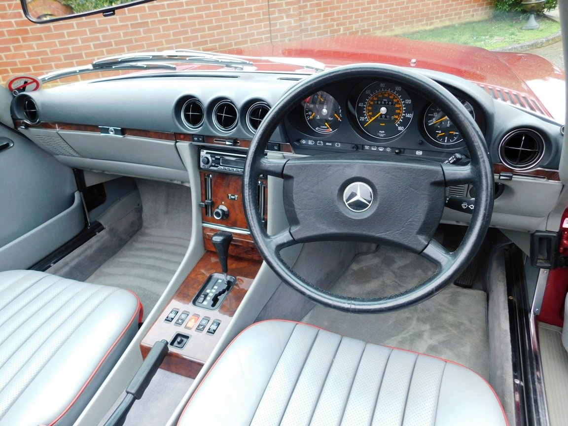 1989 Mercedes-Benz 300SL Convertible Automatic For Sale (picture 9 of 16)
