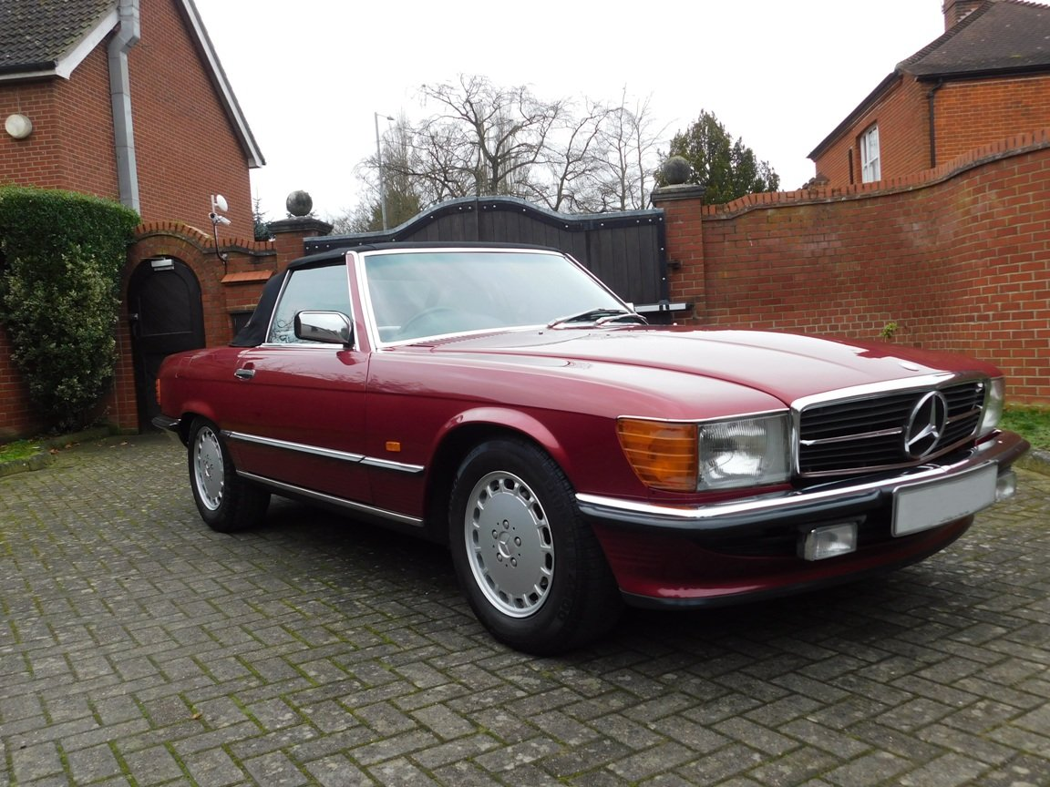 1989 Mercedes-Benz 300SL Convertible Automatic For Sale (picture 13 of 16)