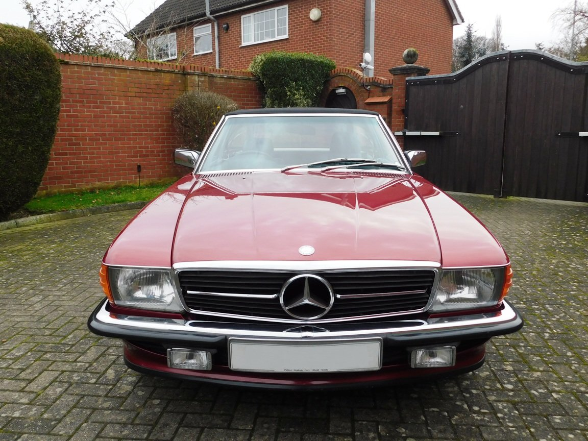 1989 Mercedes-Benz 300SL Convertible Automatic For Sale (picture 14 of 16)