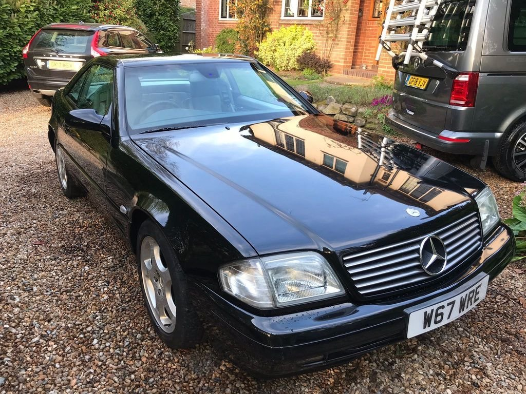 Mercedes SL280 V6 Auto 2000/W amazing value car. SOLD (picture 1 of 6)