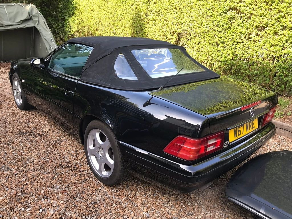 Mercedes SL280 V6 Auto 2000/W amazing value car. SOLD (picture 2 of 6)