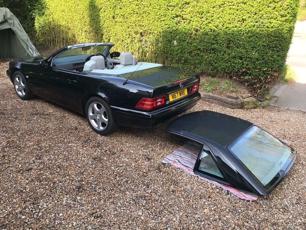 Mercedes SL280 V6 Auto 2000/W amazing value car. SOLD (picture 3 of 6)