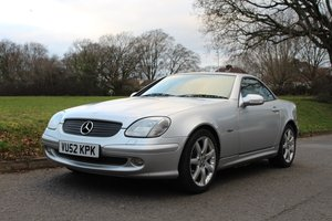 Mercedes SLK 230 Komp 2002 - To be auctioned 31-01-2020 For Sale by Auction