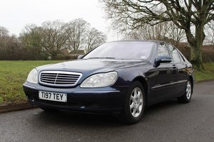 Mercedes S430 Auto 1999 - To be auctioned 31-01-2020
