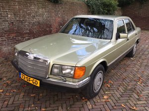 Mercedes Benz 380 SE Autom. LHD W126 Airco Leather