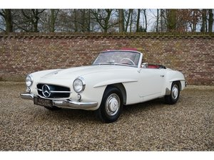 1961 Mercedes Benz 190SL fully restored condition, extensive rest For Sale