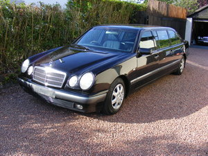classic mercedes limousine