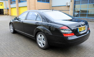 Mercedes S500 L. 1 Private owner from new