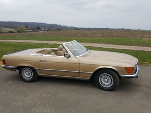 1980 MERCEDES 450SL - reluctant sale