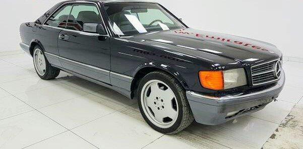 1989 Mercedes Benz 560 SEC AMG