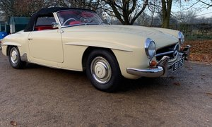 1962 Mercedes Banz 190sl For Sale