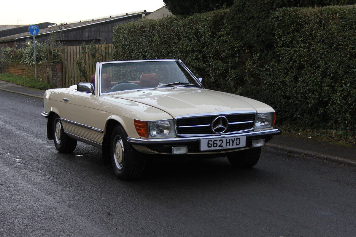 1979 Mercedes Benz 350SL, 66K Miles, FSH, 48K Spent For Sale (picture 1 of 23)