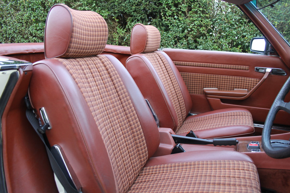 1979 Mercedes Benz 350SL, 66K Miles, FSH, 48K Spent For Sale (picture 10 of 23)
