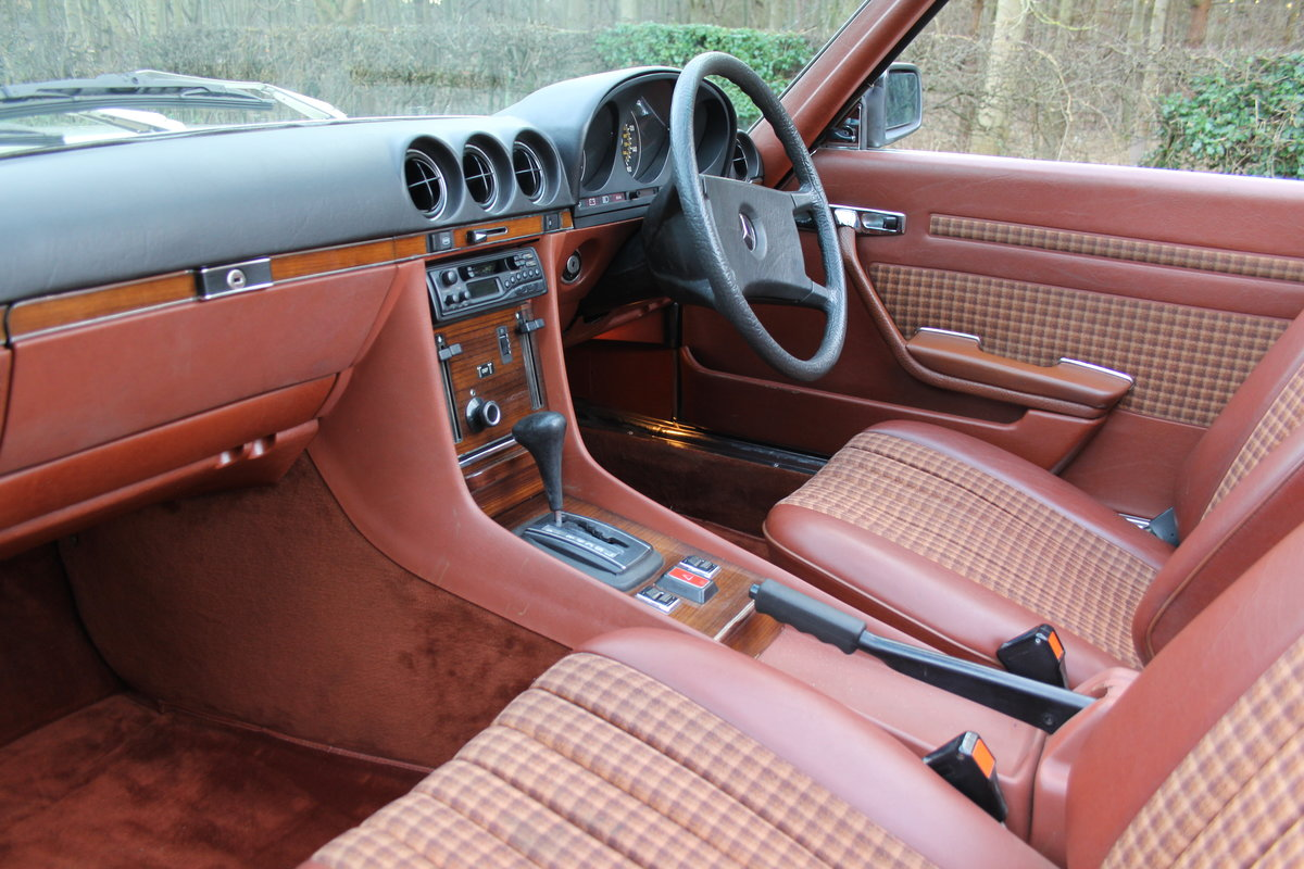 1979 Mercedes Benz 350SL, 66K Miles, FSH, 48K Spent For Sale (picture 11 of 23)