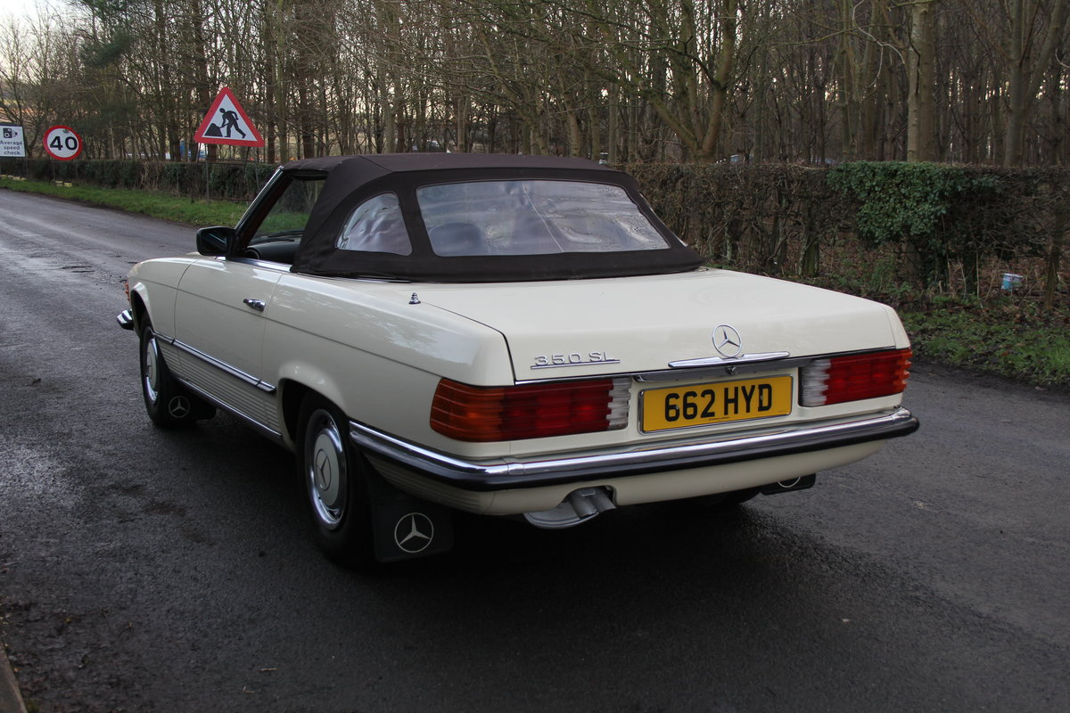 1979 Mercedes Benz 350SL, 66K Miles, FSH, 48K Spent For Sale (picture 20 of 23)