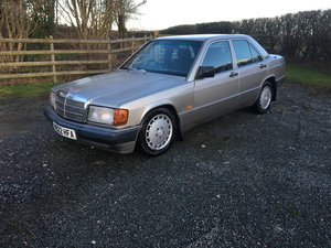 1990 Mercedes 190 2.6 Manual Project For Sale