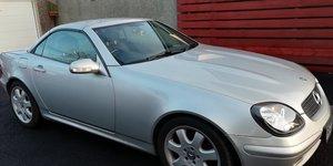 2002 Mercedes SLK320 For Sale