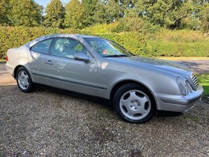 1997 Mercedes CLK Elegance Kompressor at ACA 25th January