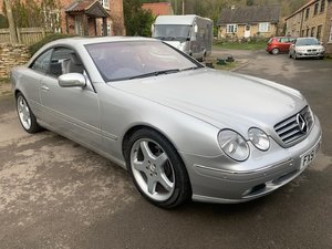 2001 Mercedes CL500 Auto SOLD by Auction