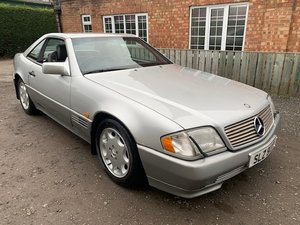 1994 Mercedes SL500 SOLD by Auction