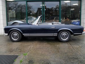 1967 Mercedes 250 SL RHD Midnight Blue Fully Restored For Sale