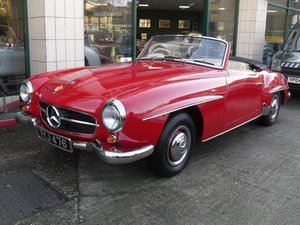1957 Mercedes 190 SL UK RHD Restored with new panels For Sale