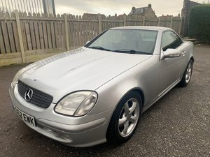 2002 Mercedes SLK320 SOLD by Auction