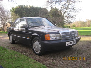 1991 Mercedes 190E Lovely 1.8  manual gearbox Low miles