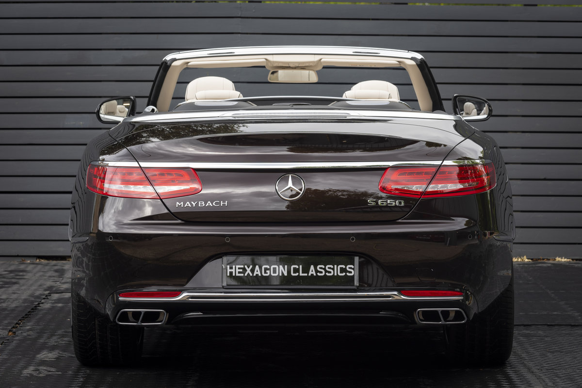 2019 S650 Cabriolet LHD (DELIVERY MILES) SOLD (picture 6 of 23)