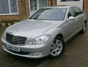 2008 Mercedes S350 7G-Tronic Long Wheel Base For Sale
