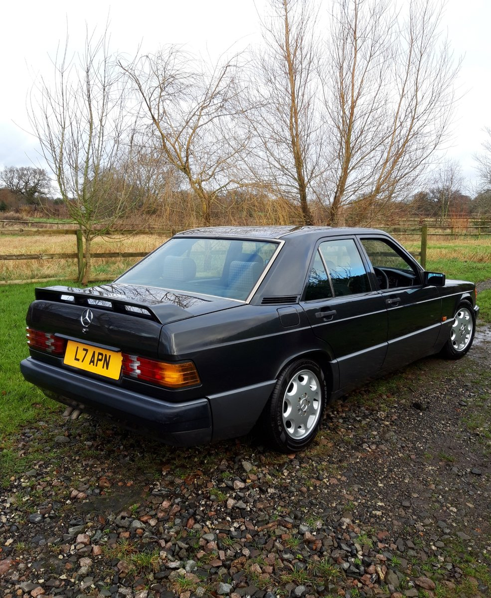 Immaculate Mercedes 190E 1993 2.0 auto For Sale (picture 1 of 6)